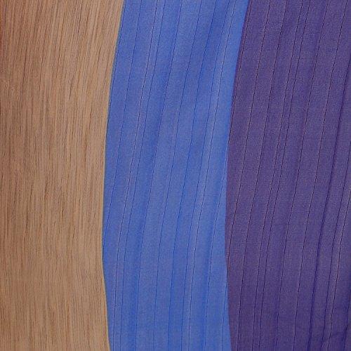 Jaanvi fashion Women's Raw Silk Saree Free Size Blue by Jaanvi fashion (Image #3)