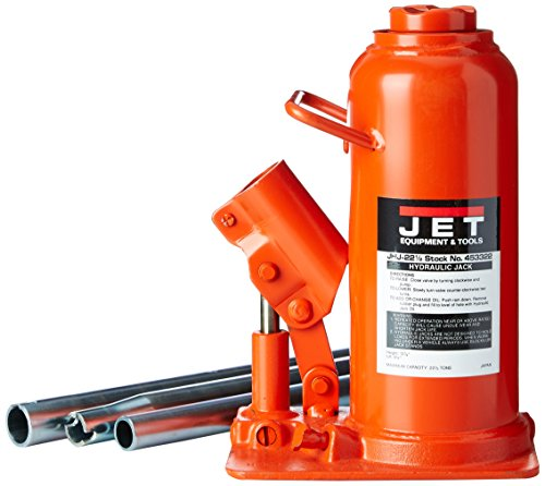 JET 453322 22-1/2-Ton Capacity Heavy-Duty Industrial Bottle Jack