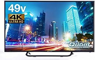 山善 キュリオム 49V型 液晶 テレビ QRS-49U4K 4K対応 地上・BS・110度CS 外付けHDD 録画 裏番組録画