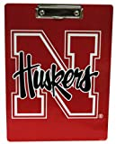 NCAA Nebraska Cornhuskers Clipboard with Team Logo, One Size, Multicolor