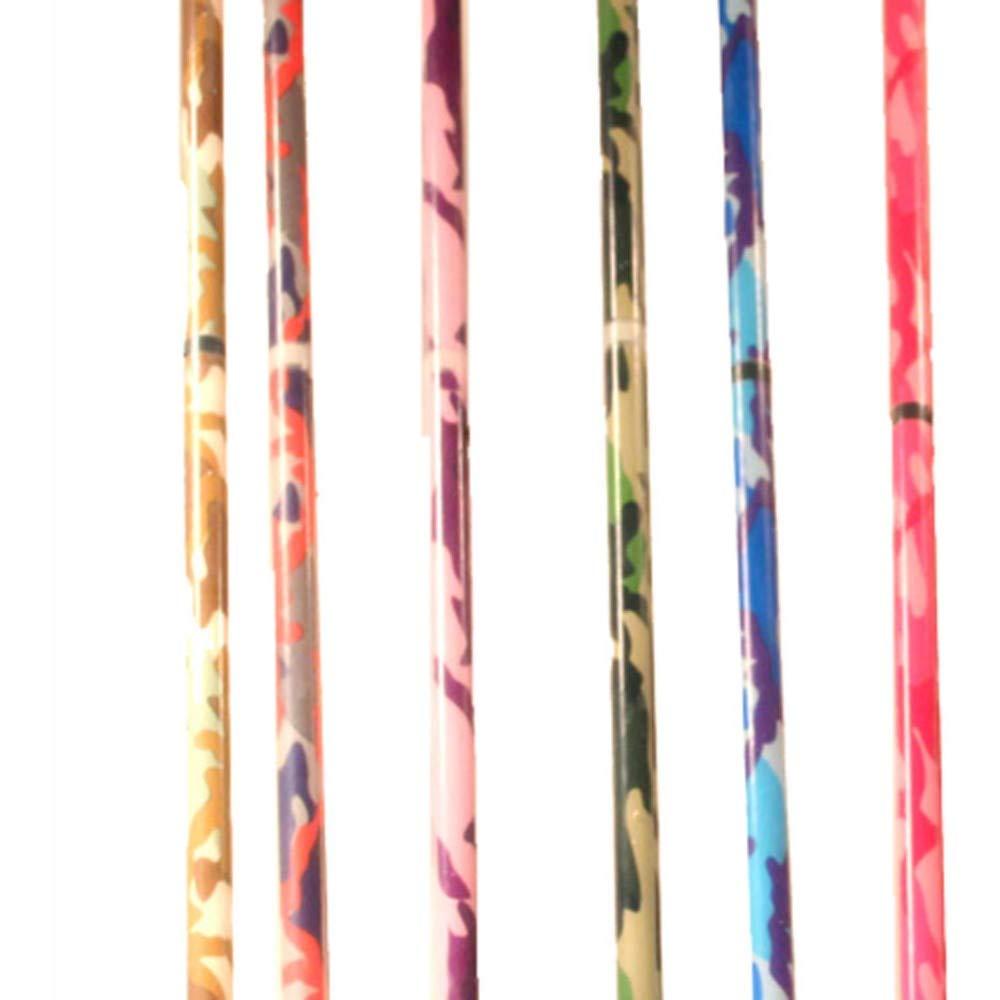 Z-Stix Flower Juggling Stick- Devil Stick- Camouflage Series- Choose The Perfect Size (Brown, Kids)