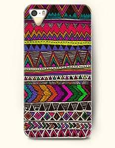 OOFIT Aztec Indian Chevron Zigzag Pattern Hard Case for Apple iPhone 4 4S ( Aztec Chevron Pattern )