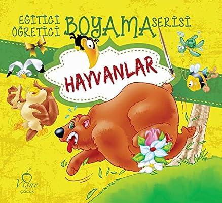 Egitici Ogretici Boyama Serisi Hayvanlar Kolektif Amazon Com Tr