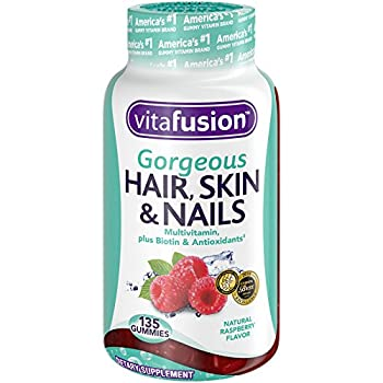 Vitafusion Gorgeous Hair, Skin & Nails Multivitamin, 135 Count (Packaging May Vary) 0