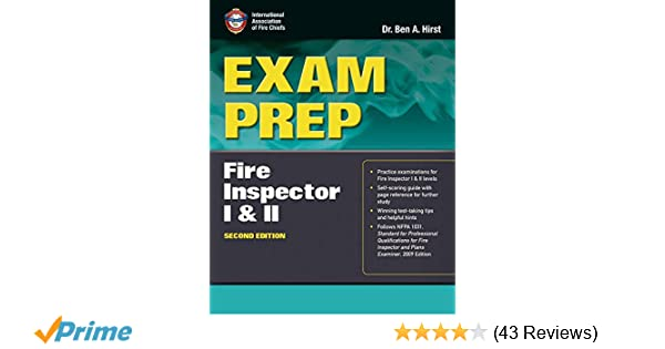 Exam prep fire inspector i ii 9781449609641 medicine health exam prep fire inspector i ii 9781449609641 medicine health science books amazon fandeluxe Choice Image