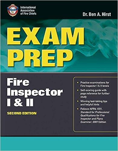 Exam prep fire inspector i ii 9781449609641 medicine health exam prep fire inspector i ii 2nd edition fandeluxe Choice Image