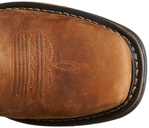 Rocky Hommes 11 Pouces Original Ride St W040 Botte Western Safran Marron / Bridon Marron