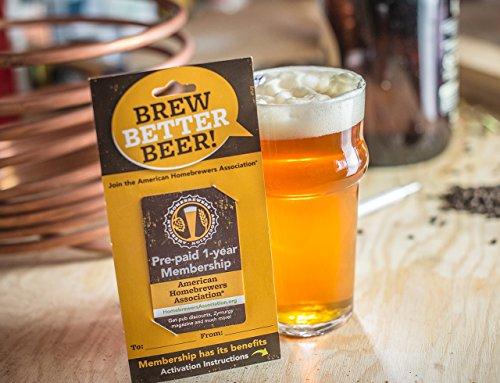 American Homebrewers Association (AHA) 1- Year Membership (Beer Making Gifts)