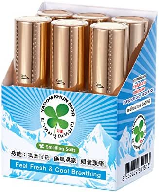 Thai PIM Saen Balm Oil Nasal Inhaler Roll On 5 ml x 6 pcs