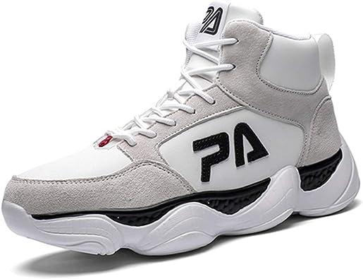 Zapatillas de Baloncesto para Hombre Deporte al Aire Libre Zapatillas Altas Deportivas para Caminar Zapatillas para Correr: Amazon.es: Zapatos y complementos