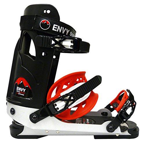 Envy Ski Frame - Comfortable Ski Boots (Black, Large) (9 Alpine Ski Boot)