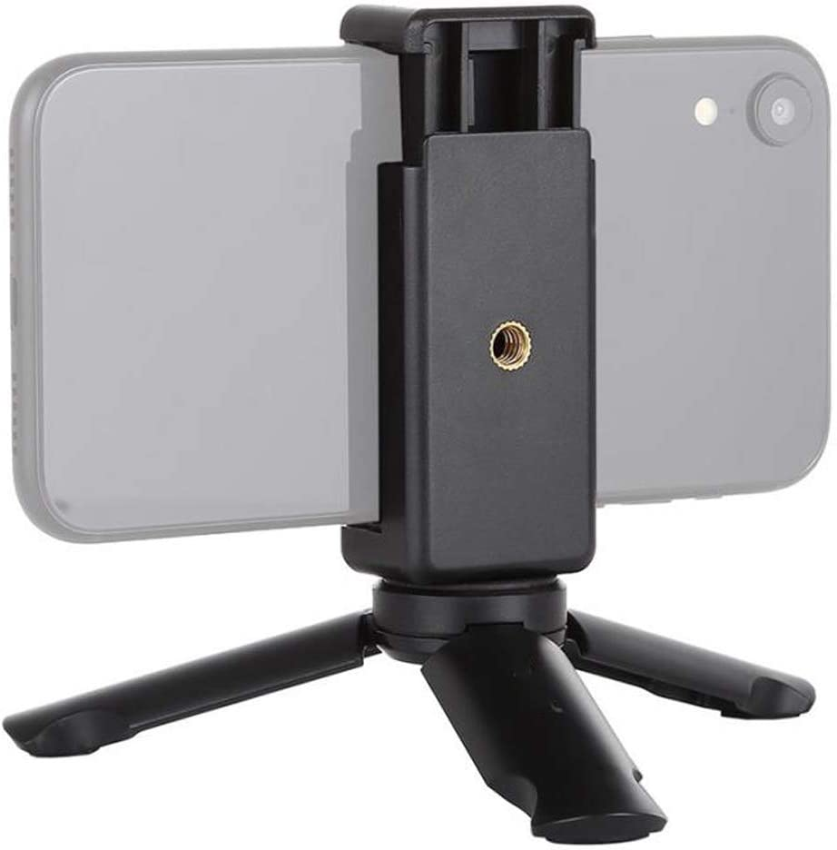 Mini Stand Tripod Mobile Phone Clamp Clip Portable Bracket Durable Stable Holder JLRL88 Mobile Phone Holder AICH Cell Phone Stand
