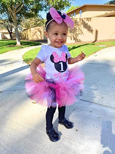 Minnie Mouse Smash Cake (Minnie mouse birthday outfit, first birthday outfit, cake smash outfit, grils birthday outfit, baby birthday oufit any)
