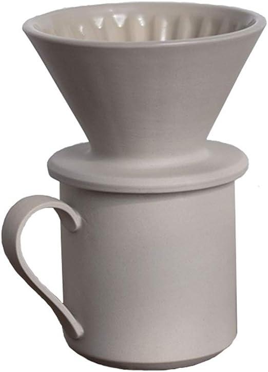 Cafetera Tetera Cerámica Hielo Alumno Filtro Copa del Oído Que ...