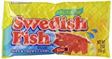 Swedish Fish Red Fish Soft and Chewy Candy 2 oz, 24-Count by Swedish Fish