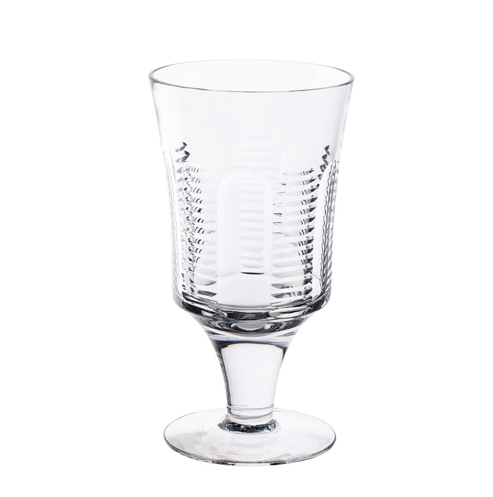 Royal Brierley Biarritz Water Glass, Clear Dartington Crystal RB2241/9