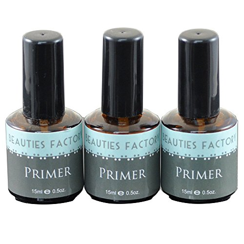 Beauties Factory Authentic Acrylic Nail art UV Gel Primer Ba