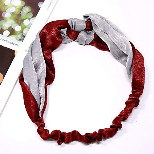 - Lovely Women Elastic Hairband Yoga Headband Turban Head Wrap Headwear Hot (Model - 05)