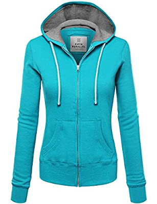 FPT Womens Basic Zip-Up Hoodie (S-3XL)
