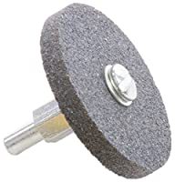 "Forney 72414 Grinding Stone, Cylindrical with 1/4"" Shank, 2"" by 1/4"""