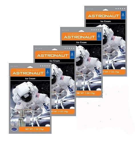 Astronaut Ice Cream Neapolitan Freeze Dried Food 4 (Nasa Space Food)