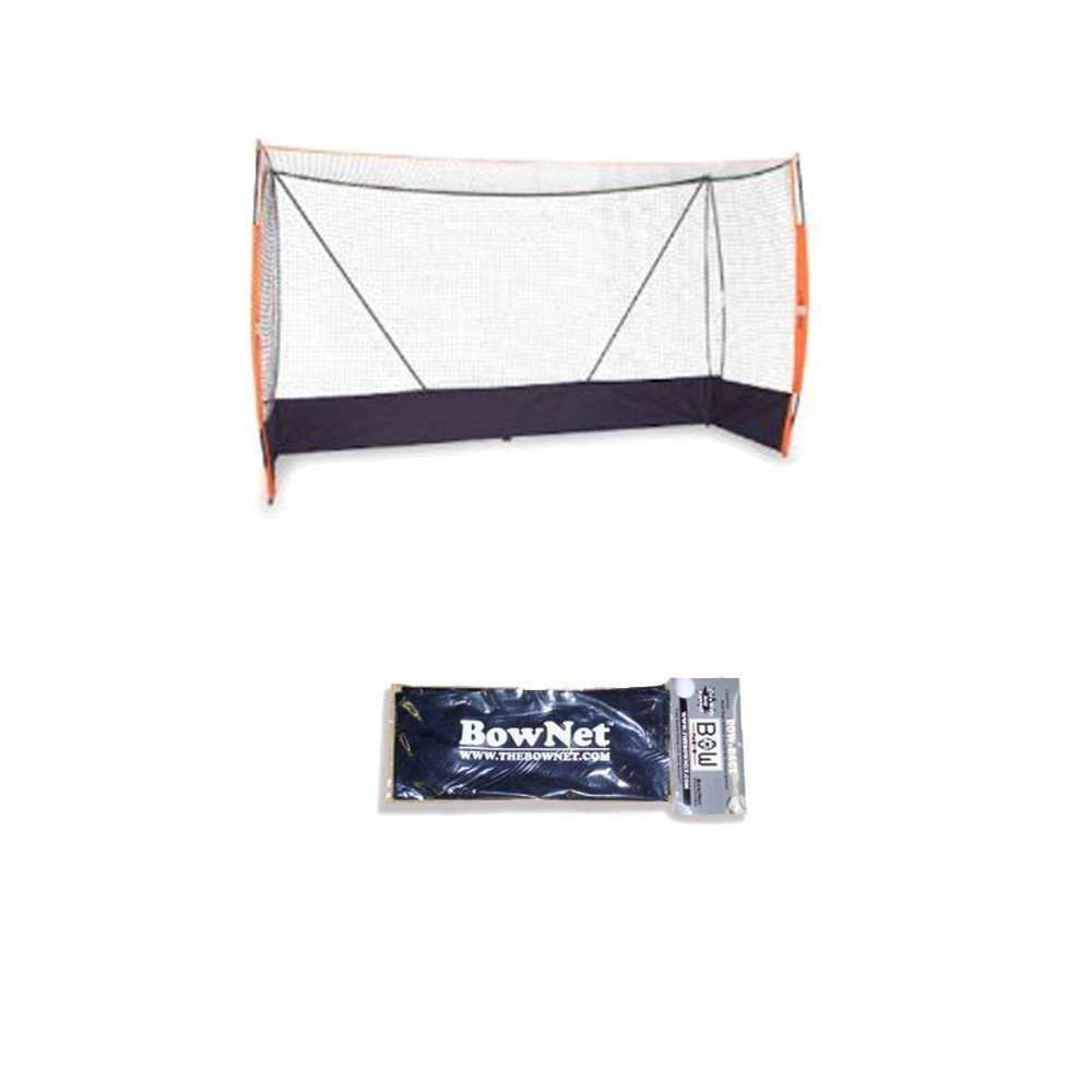 Bownet Field Hockey Portable Goal BowFH + Self-Filling U-Fill Bags (2-Packs)