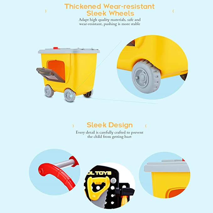 Amazon.com: AODD Juego de herramientas para niños, juguetes ...
