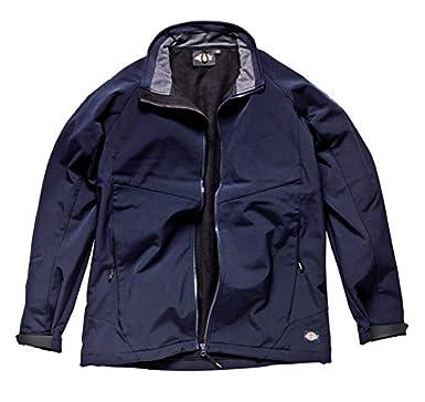 Dickies WD052 Softshell Workwear Waterproof Breathable Jacket Black or Navy