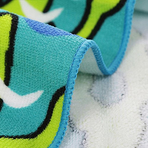 Surfer Dudes 3 Piece Set - Hank Toy, Shark Beach Towel, Shark Tooth Necklace by Surfer Dudes (Image #7)