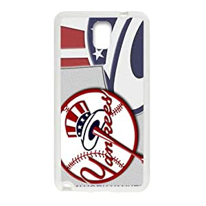 JIAJIA New York Yankees Fashion Comstom Plastic case cover For Samsung Galaxy Note3
