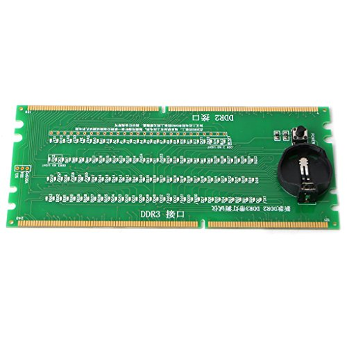 - DDR2 and DDR3 2 in 1 Illuminated Tester with Light for Desktop Motherboard