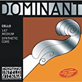 Dr Thomastik-Infeld147 Dominant Cello Strings, Complete Set, Medium Tension, 4/4 Size