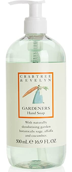 Amazoncom Crabtree Evelyn Hand Soap Gardeners 169 fl oz