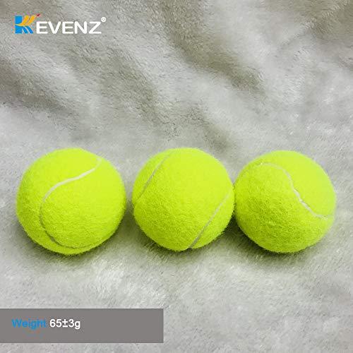 KEVENZ Green Advanced Training Tennis Balls,Practice Ball,Tennis Racket (12-Pack) by KEVENZ (Image #4)