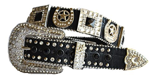 Horseshoe Rhinestone Belt - 5