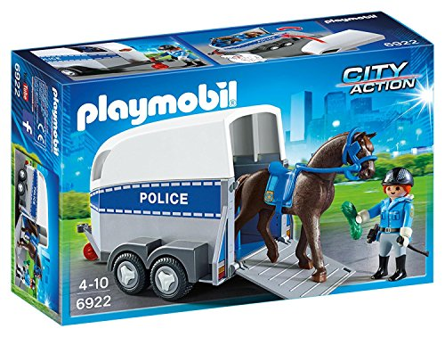 Playmobil Horse Trailer (Police with Horse and Trailer)