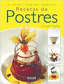 Recetas de Postres: S-869-16: 9788430568635: Amazon.com: Books