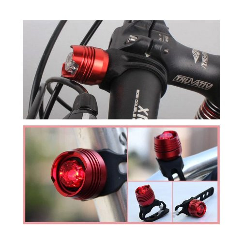 DBPOWER® Ultra Bright Bike Bicycle Rear Back Tail Helmet Lamp Light Red