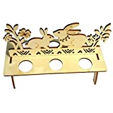 Egg Holder Boiled Tray Display Countertop Chicken Figure Hen Rooster Kitchen Ornament Easter Eggs Stand Holder Storage for Kids (B, Free Size)