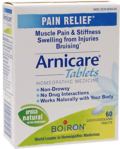 Boiron Arnicacare Arnica Tablets 60 ea (Pack of 11)
