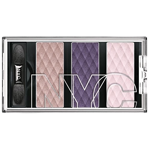 N.Y.C. New York Color HD Color Trio Eye Shadow, The Liberty Lilacs, 0.158 Ounce by N.Y.C.