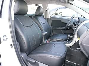 2007 Toyota Corolla Ce Le S Clazzio Leather Seat Covers Gray Full Set Front