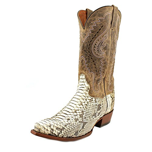 Dp3003 Boot Cowboy Snip Post Orlando Python Dan Natural Men's Toe AqvnxSB