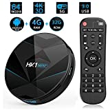 3CTECH HK1 Mini Plus Android 9.0 TV Box 4K Streaming Media Player Smart TV Box Rockchip RK3318 Mini PC USB 3.0 Ultra HD/4K/HDR Dual Band WiFi 2.4GHz/5.8GHz Bluetooth 4.1 Set Top Box HK1 Mini+