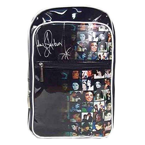 Usa Fashion Michael Jackson BAD Smile Face Backpack Travel Bag School Bag (Michael Jackson Backpack)