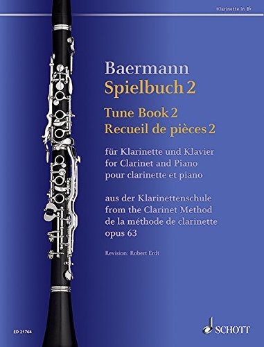 Download Tune Book 2, Op. 63: Concert Pieces from the Clarinet Method - Clarinet and Piano pdf
