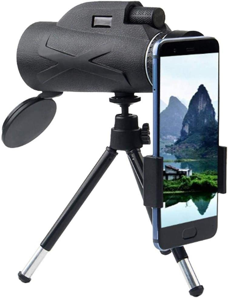 Portable 80X100 Night Vision Monocular High Power Telescope For Hiking Travel
