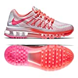2015 women air max - NIKE Kids Air Max 2015 (GS) White/Pink Pow/Hot Lava/Lv GLW Running Shoe 7 Kids US