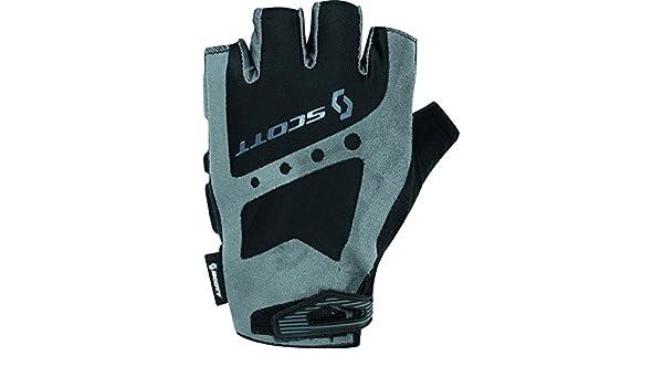 Scott Aspect SF GEL Fingerless Cycle Gloves White Mens Womens Cycling Bike Glove