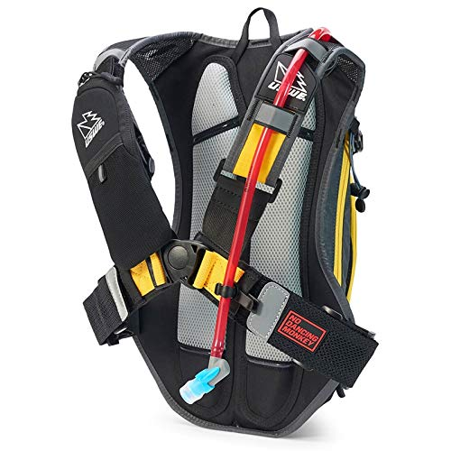 USWE Airborne 9L with accessible phone pocket (Gray/Yellow)
